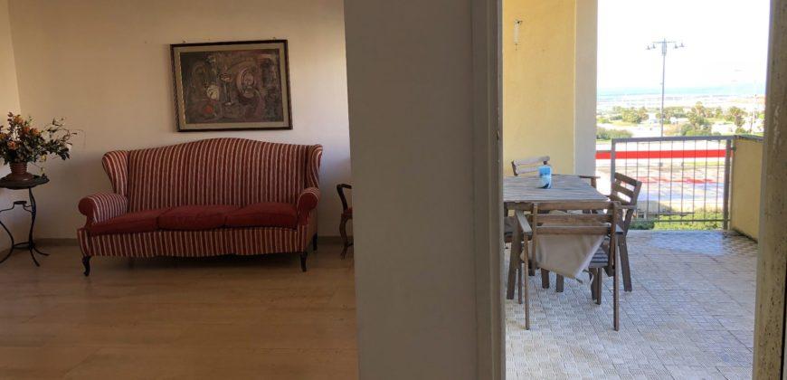 Appartamento di 150 mq con terrazza vista mare